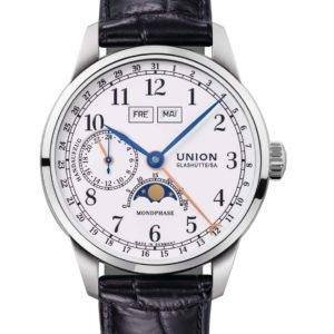 Bild der Uhr: UNION GLASHÜTTE 1893 Johannes Dürrsten Edition Mondphase D007.458.16.017.00
