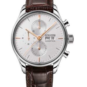 Bild der Uhr: UNION-GLASHÜTTE-VIRO-CHRONOGRAPH-D011.414.16.031.01