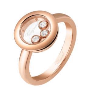 CHOPARD Happy Diamonds Ring 82A018-5000