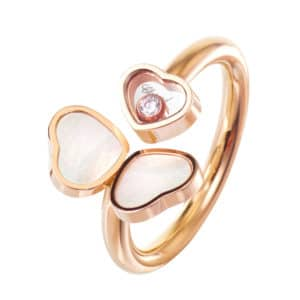 CHOPARD Happy Hearts Wings Ring 82A083-5300