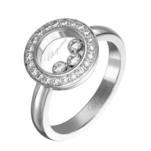 CHOPARD Happy Diamonds Ring 82A018-1200