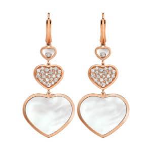 CHOPARD Happy Hearts Ohrringe 837482-5316