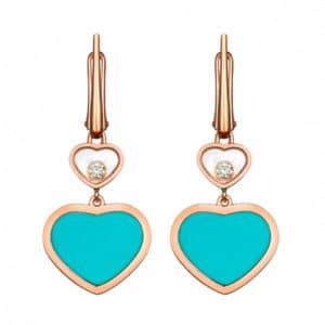 CHOPARD Happy Hearts Ohrringe 837482-5410