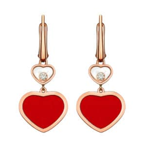 CHOPARD Happy Hearts Ohrringe 837482-5810