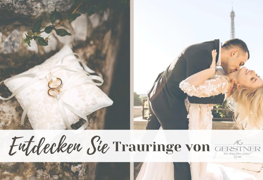 Brautpaar Trauringe Gerstner