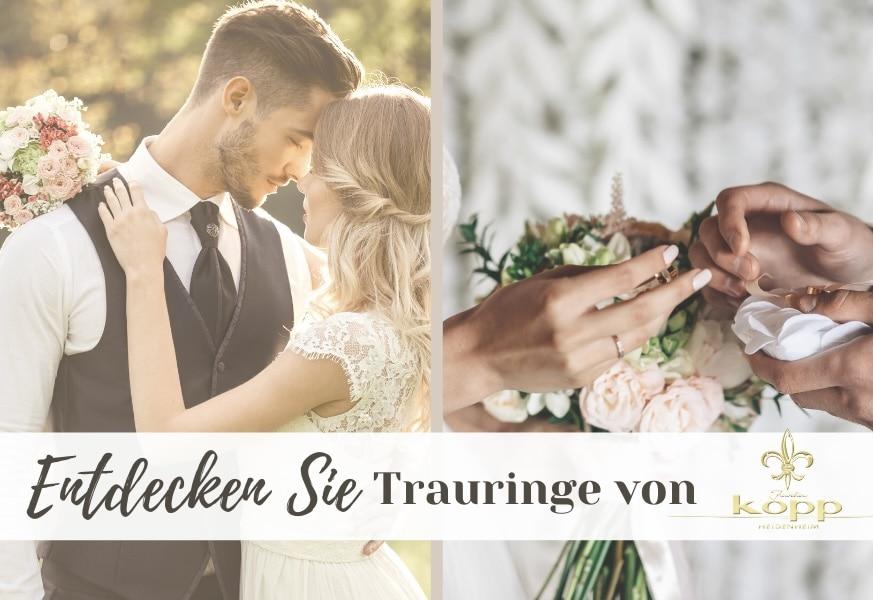Brautpaar Trauringe Kopp